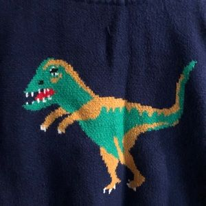 Sweaters - Whimsical T-Rex Sweater